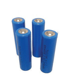 Kit n. 4 batterie litio-cloruro 3,6V 2,7Ah