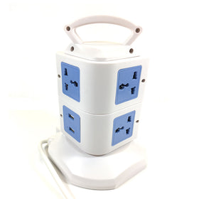 Sockets Vertical Secure Power Extension