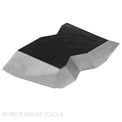 RISHET TOOLS NT-3R C5 Uncoated Carbide Inserts (10 PCS)