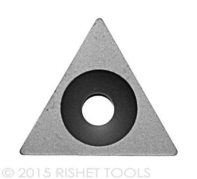 RISHET TOOLS TPGB 322 C5 Uncoated Carbide Inserts (10 PCS)