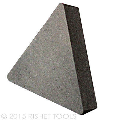 RISHET TOOLS TPG 433 C5 Uncoated Carbide Inserts (10 PCS)
