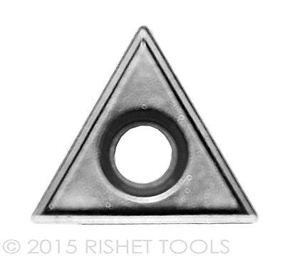 RISHET TOOLS TT 222 C2 Uncoated Carbide Inserts (10 PCS)