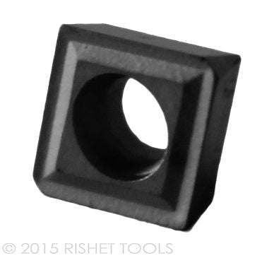 RISHET TOOLS CPGT 32.52 C2 Uncoated Carbide Inserts (10 PCS)