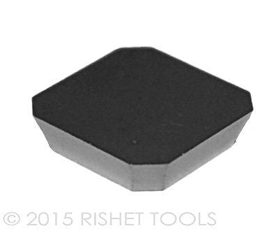 RISHET TOOLS SEKN-42 AFN C5 Uncoated Carbide Inserts (10 PCS)