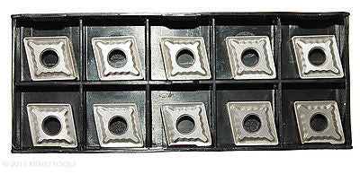 RISHET TOOLS CNMG 431 C2 Uncoated Carbide Inserts (10 PCS)