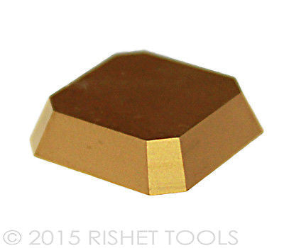 RISHET TOOLS SEAN-43 AFTN C5 Multi Layer TiN Coated Carbide Inserts (10 PCS)
