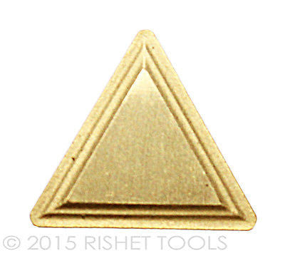 RISHET TOOLS TPMR 321 C5 Multi Layer TiN Coated Carbide Inserts (10 PCS)