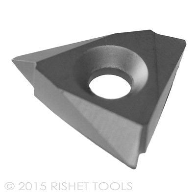 RISHET TOOLS TPMC 54NV C5 Uncoated Carbide Inserts (10 PCS)