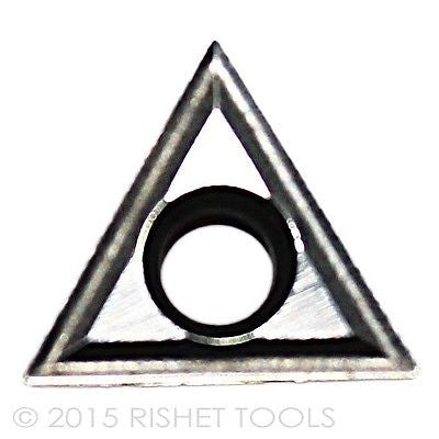 RISHET TOOLS TT 321 C2 Uncoated Carbide Inserts (10 PCS)