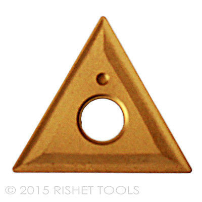 RISHET TOOLS TNMG 431 C5 Multi Layer TiN Coated Carbide Inserts (10 PCS)