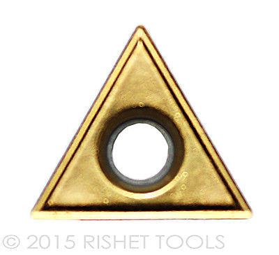 RISHET TOOLS TT 431 C5 Multi Layer TiN Coated Carbide Inserts (10 PCS)