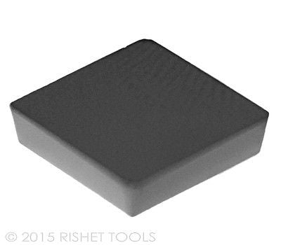 RISHET TOOLS SPG 322 C5 Uncoated Carbide Inserts (10 PCS)