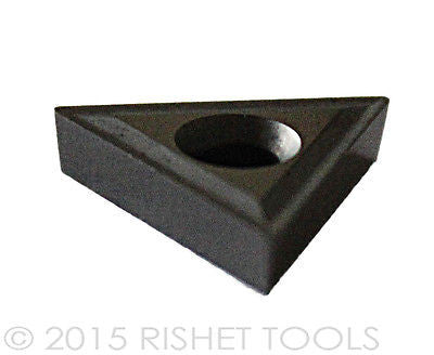 RISHET TOOLS TCMT 432 C2 Uncoated Carbide Inserts (10 PCS)