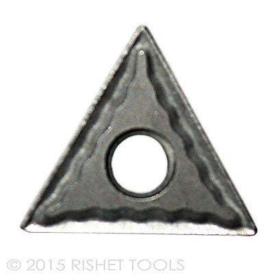 RISHET TOOLS TNMG 221 C2 Uncoated Carbide Inserts (10 PCS)