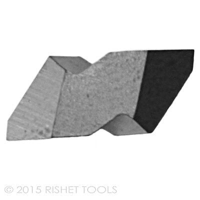 RISHET TOOLS NT-2R C5 Uncoated Carbide Inserts (10 PCS)