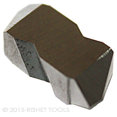 RISHET TOOLS NTP-3L C5 Uncoated Carbide Inserts (10 PCS)