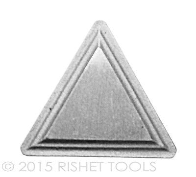 RISHET TOOLS TPMR 321 C2 Uncoated Carbide Inserts (10 PCS)