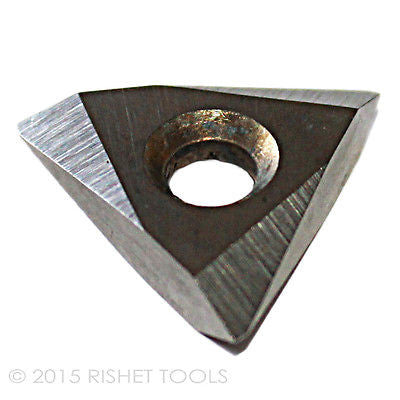 RISHET TOOLS TNMC 43NV C5 Uncoated Carbide Inserts (10 PCS)