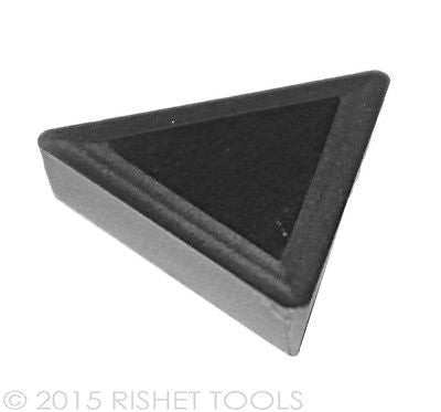 RISHET TOOLS TPMR 221 C2 Uncoated Carbide Inserts (10 PCS)