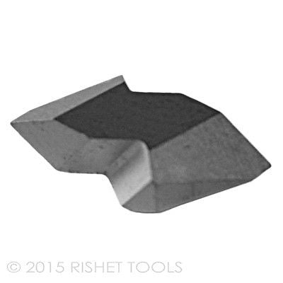 RISHET TOOLS NT-2L C2 Uncoated Carbide Inserts (10 PCS)