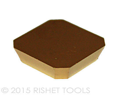 RISHET TOOLS SEKN-42 AFTN C5 Multi Layer TiN Coated Carbide Inserts (10 PCS)