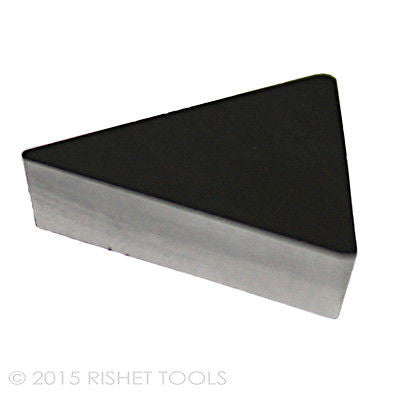 RISHET TOOLS TPG 432 C5 Uncoated Carbide Inserts (10 PCS)
