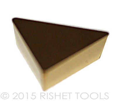 RISHET TOOLS TPG 222 C5 Multi Layer TiN Coated Carbide Inserts (10 PCS)