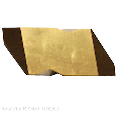 RISHET TOOLS NTP-4L C5 Multi Layer TiN Coated Carbide Inserts (10 PCS)