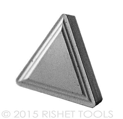 RISHET TOOLS TPMR 221 C5 Uncoated Carbide Inserts (10 PCS)