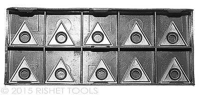 RISHET TOOLS TT 322 C2 Uncoated Carbide Inserts (10 PCS)