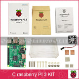C Raspberry Pi 3 starter kit-original model b