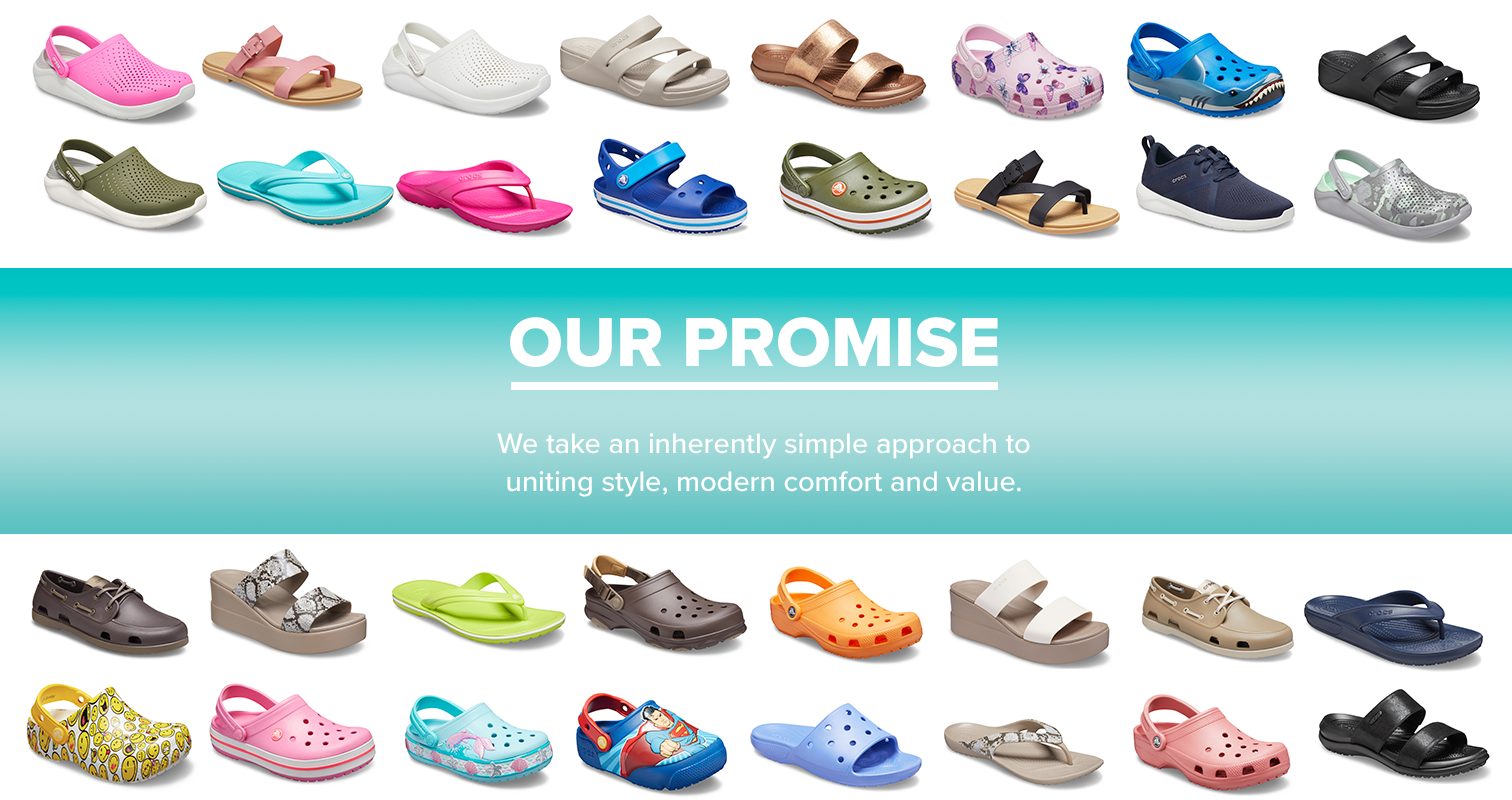 About Crocs - Our Promise