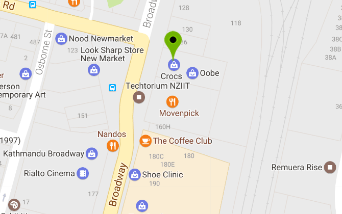 ffcca8992f51 Store Locator – Crocs New Zealand