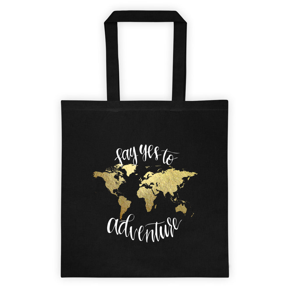 Tote Bag | Say Yes Black