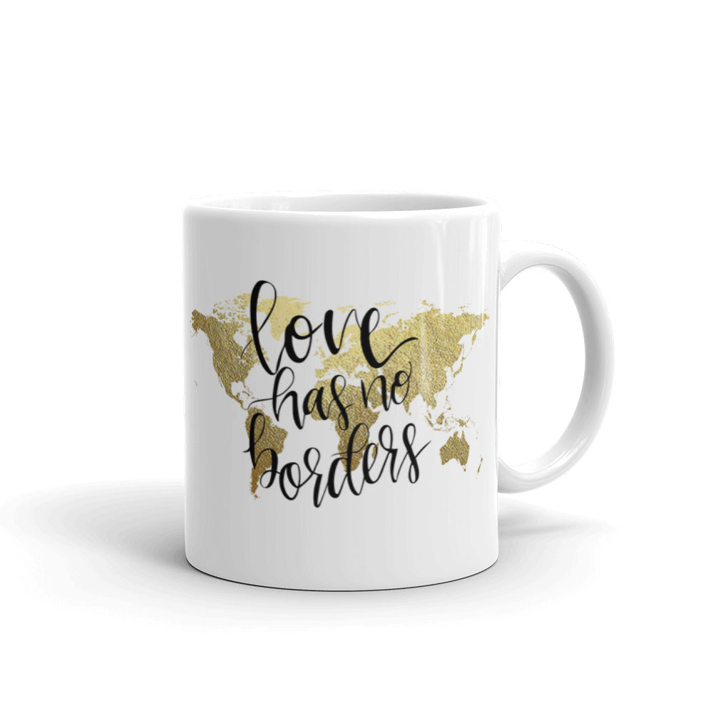 Ceramic Mug | Love Has No Borders