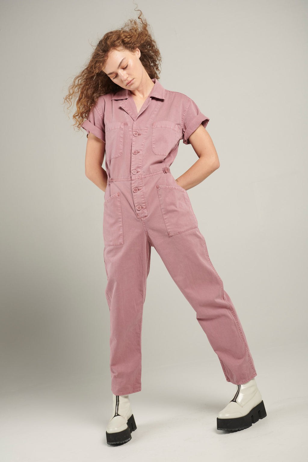 Grover Short Sleeve Field Suit - Moss Rose
