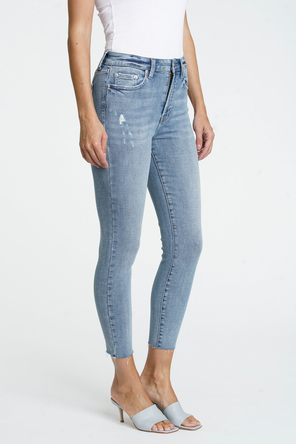 Aline High Rise Skinny Crop - Shallow