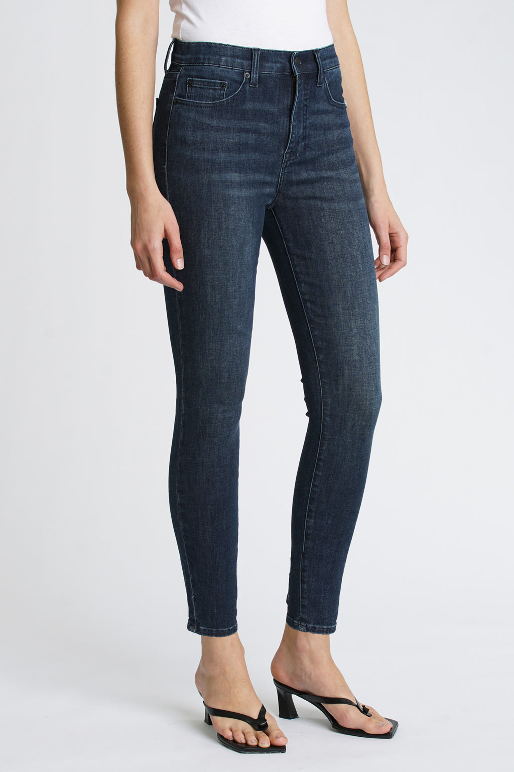 Aline High Rise Skinny - Lake Como