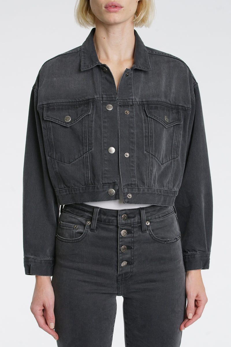 Allison Elastic Waistband Jacket - Ashbury