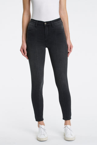 Amanda High Rise Seamed Skinny - 6 AM