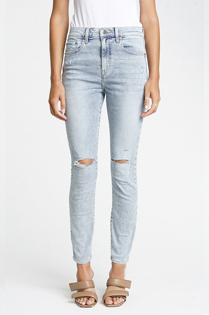 Audrey Mid Rise Skinny - Lush