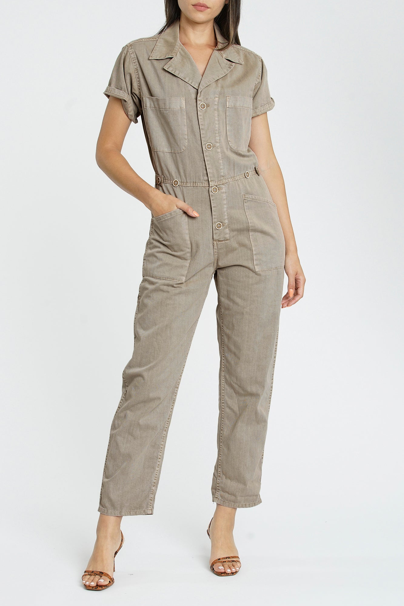 Grover Short Sleeve Field Suit - Sandstone