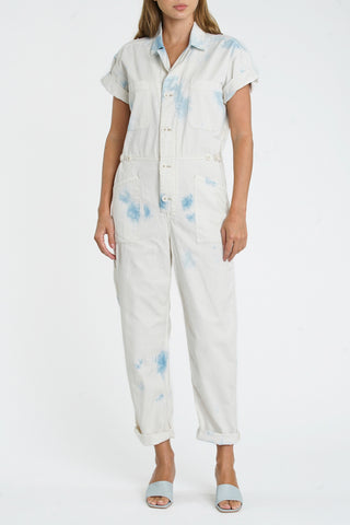 Grover Short Sleeve Field Suit - Blue Surf