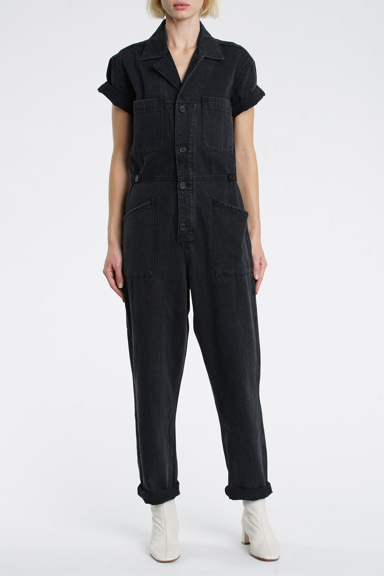 Grover Short Sleeve Field Suit - Asphalt Tiger