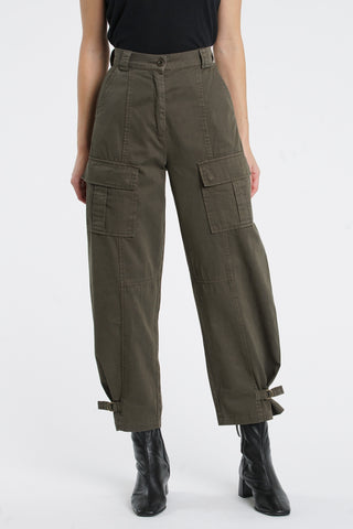 Morgan Cargo Pant - Blackened Olive