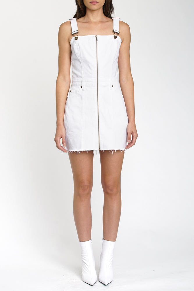 Nina Overall Dress - Ice Breaker