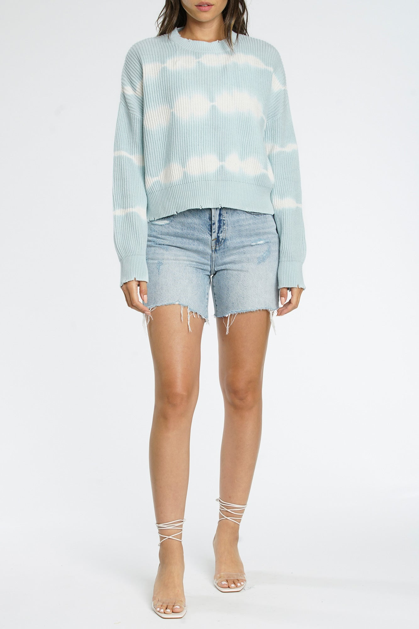 Eva Crop Sweater - Breaking Ties