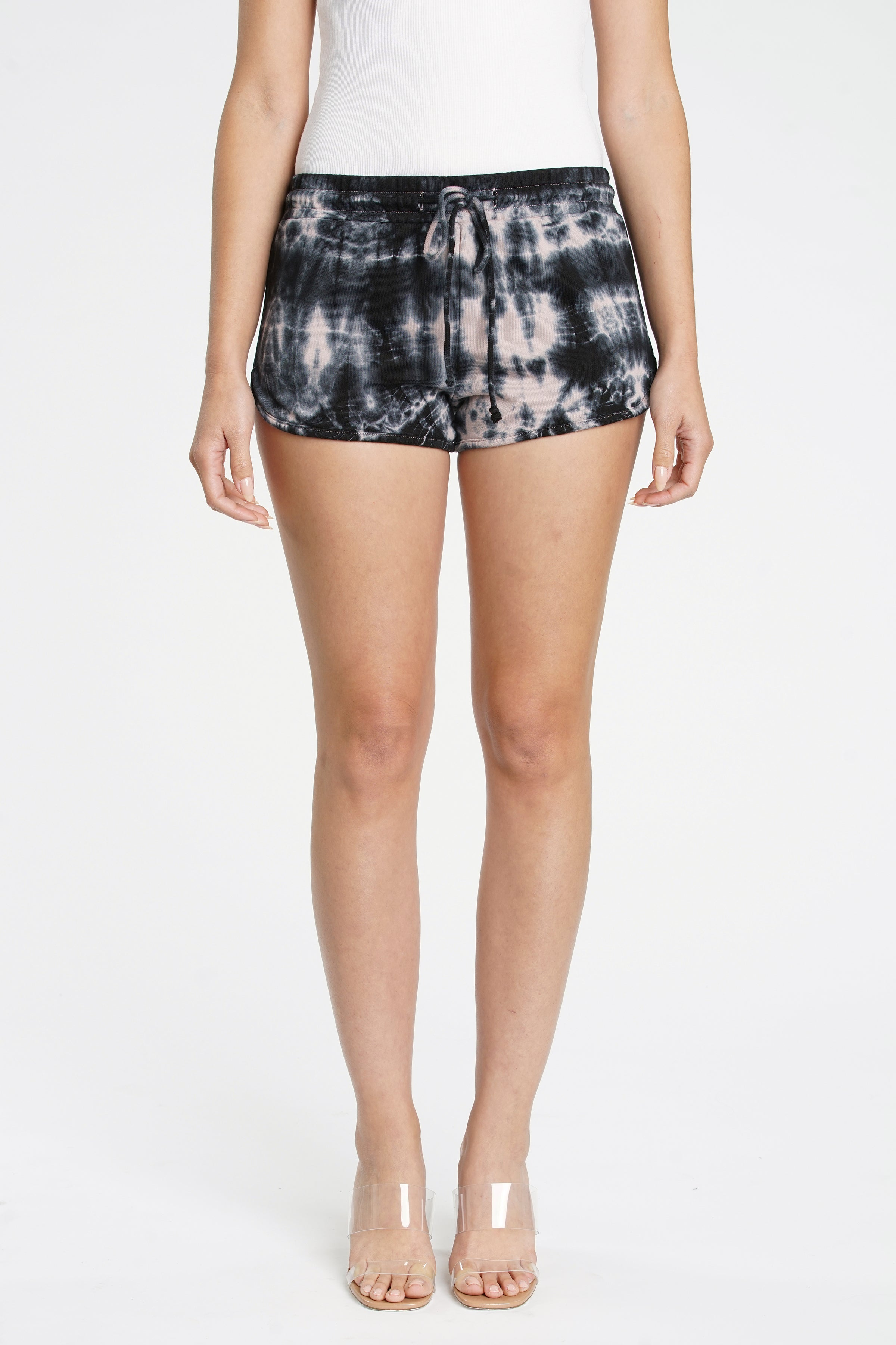Ellie French Terry Track Short - Youre Blushing Navy