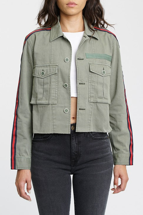 Camilo Cropped Military Jacket - Trenches
