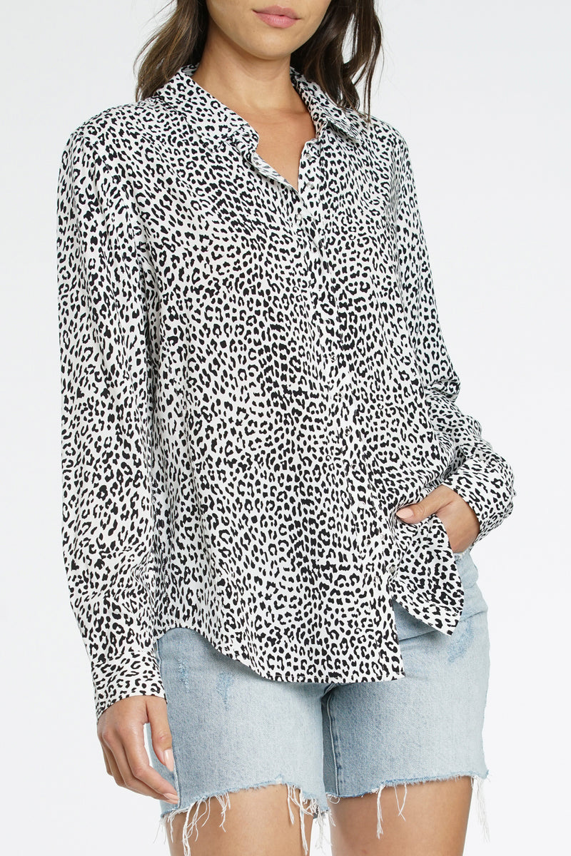 Elle Long Sleeve Baby Snap Shirt - Into The Wild